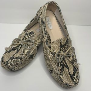 Cole Haan Grant Driver in Roccia Snake Print Size6
